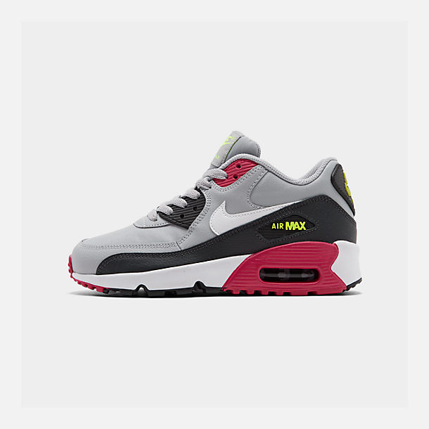 super popular f0ab8 885ac Big Kids' Nike Air Max 90 Leather Casual Shoes| Finish Line