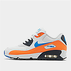 3cb9341bb447 Big Kids  Nike Air Max 90 Leather Casual Shoes