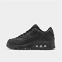 a2f723778071 Little Kids  Nike Air Max 90 Leather Casual Shoes