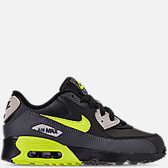 Kids' Preschool Nike Air Max 90 Leather Running Shoes