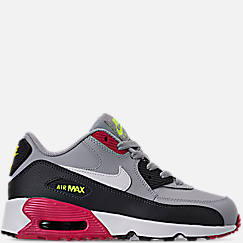 the latest 16d4e 27beb Little Kids  Nike Air Max 90 Leather Casual Shoes