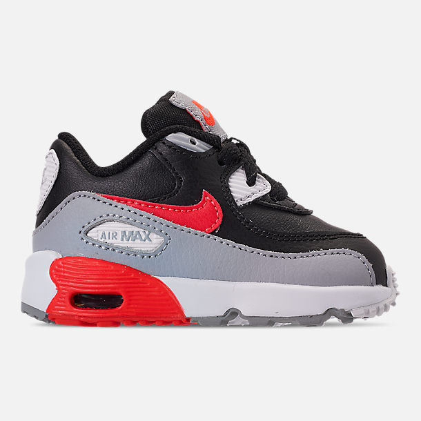 competitive price 1e987 a78c9 Right view of Kids  Toddler Nike Air Max 90 Leather Casual Shoes