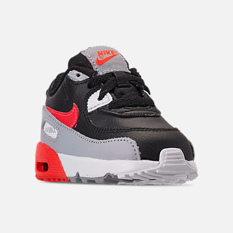 new style 3b7b1 4f2b2 Three Quarter view of Kids  Toddler Nike Air Max 90 Leather Casual Shoes