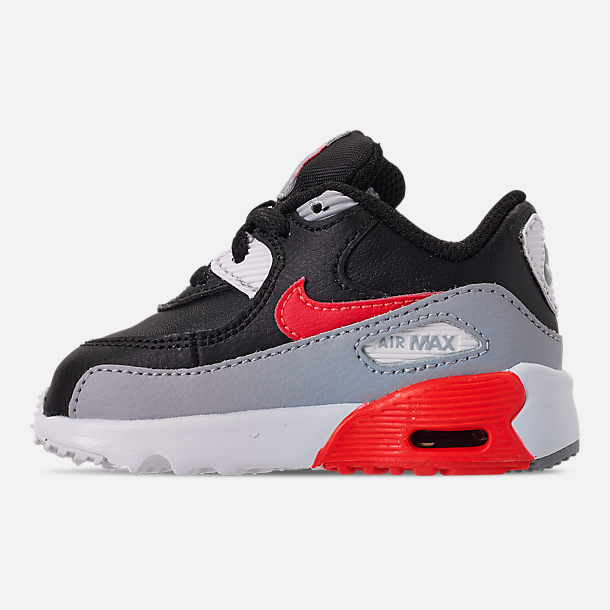 the best attitude db3f7 814b1 Left view of Kids  Toddler Nike Air Max 90 Leather Casual Shoes
