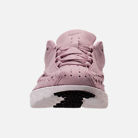 Front view of Women's Nike Mayfly Woven Casual Shoes in Particle Rose/Grey/Black