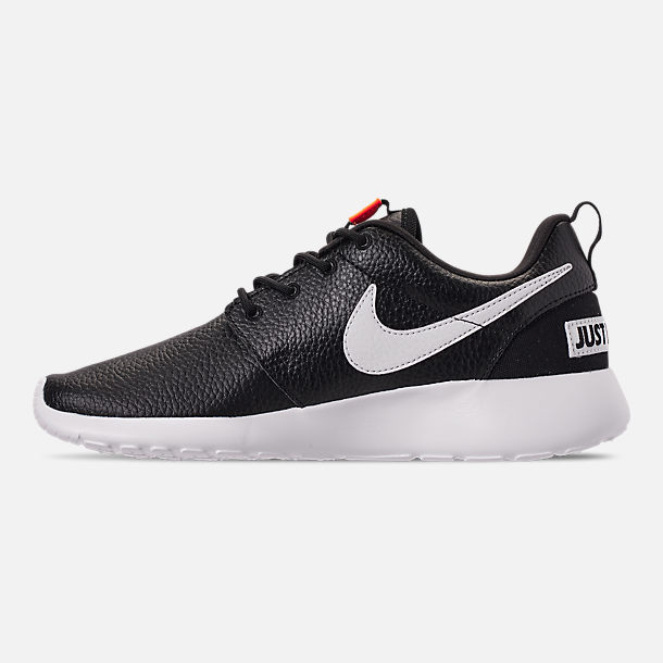 low priced 70e27 bc4cb Left view of Womens Nike Roshe One Premium Casual Shoes in  BlackWhiteTotal
