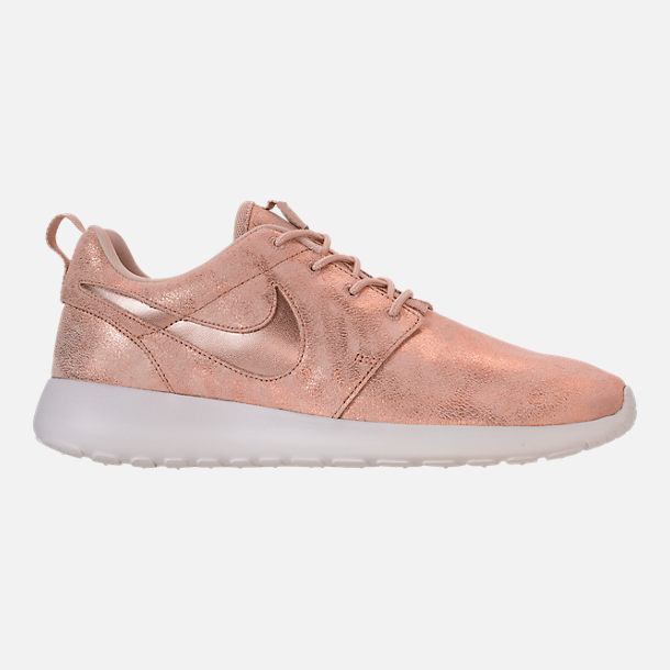 4801aaba84b Right view of Women s Nike Roshe One Premium Casual Shoes in Metallic Red  Bronze