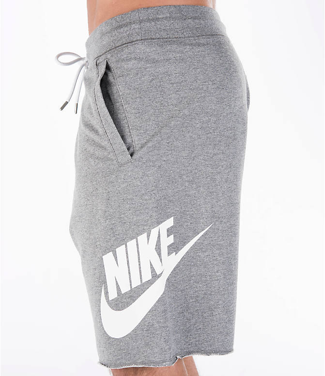 Detail 2 view of Men's Nike Sportswear GX Shorts in Carbon Heather