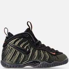 Boys' Preschool Nike Little Posite Pro Basketball Shoes