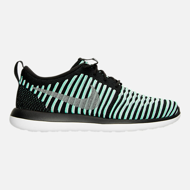 ef5240dde9eaf Right view of Girls  Big Kids  Nike Roshe Two Flyknit Casual Shoes