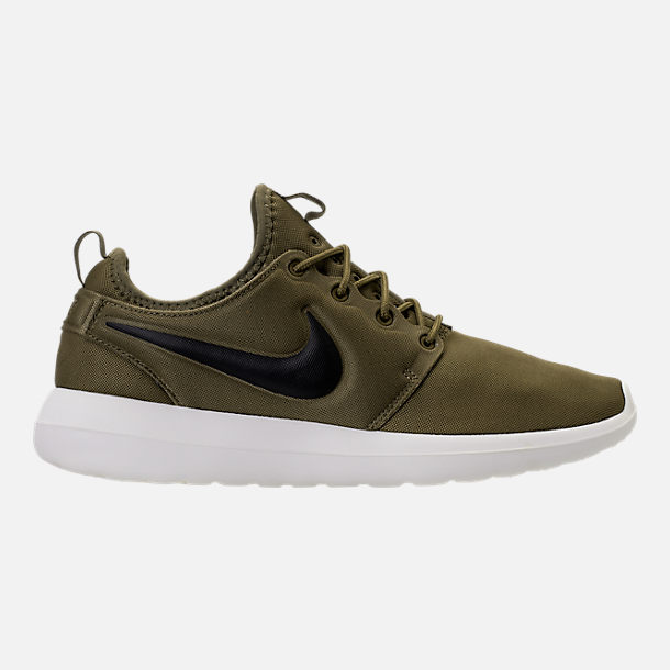 Right view of Men's Nike Roshe Two Casual Shoes in Iguana/Black/Sail/Volt