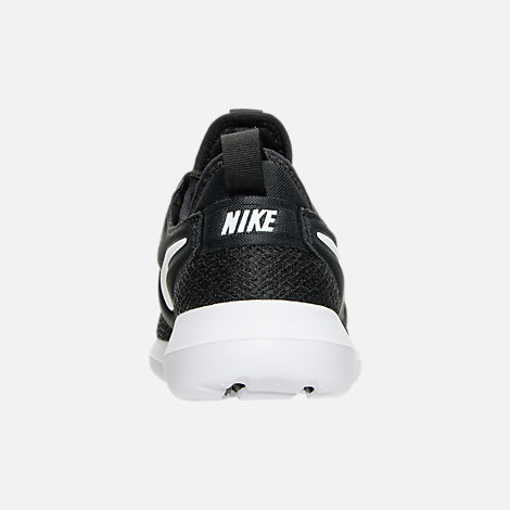 Back view of Women's Nike Roshe Two Casual Shoes in Black/White