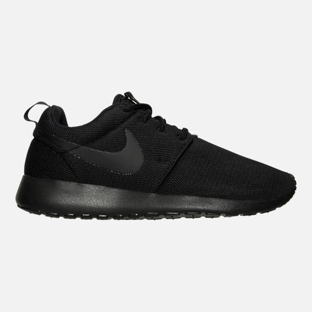 quality design ed92a 43801 Right view of Women s Nike Roshe One Casual Shoes in Black Black Dark Grey