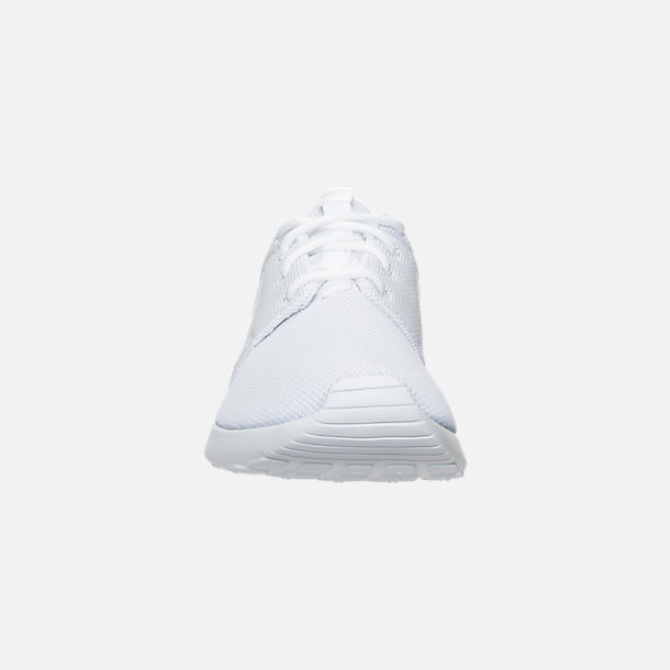 4abe1c1ce503 Front view of Women's Nike Roshe One Casual Shoes in White/Pure Platinum