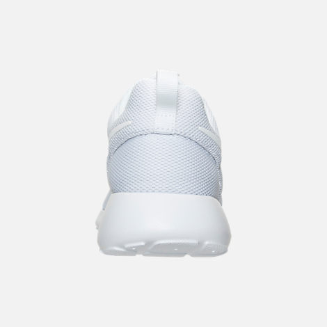 Back view of Women's Nike Roshe One Casual Shoes in White/Pure Platinum