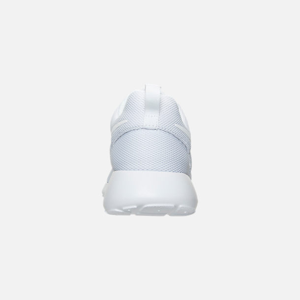 big sale 78c8d 2d8a2 Back view of Women s Nike Roshe One Casual Shoes in White Pure Platinum