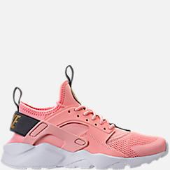 Girls' Grade School Nike Air Huarache Run Ultra Casual Shoes