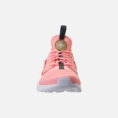 78db982b31d3 ... clearance front view of girls grade school nike air huarache run ultra  casual shoes in bleached