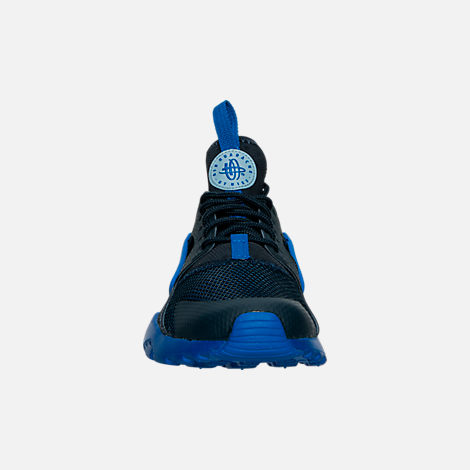 Front view of Boys' Big Kids' Nike Air Huarache Run Ultra Casual Shoes
