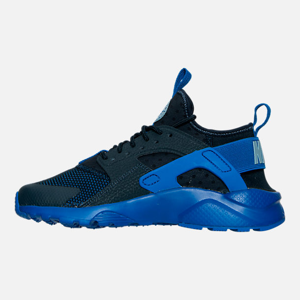 Left view of Boys' Big Kids' Nike Air Huarache Run Ultra Casual Shoes