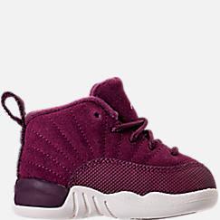 Kids' Toddler Air Jordan Retro 12 Basketball Shoes