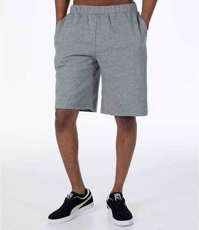 Front Three Quarter view of Men's Puma Rebel Shorts