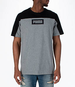 Men's Puma Rebel Block T-Shirt