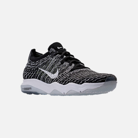 Three Quarter view of Women's Nike Air Zoom Fearless Flyknit Running Shoes