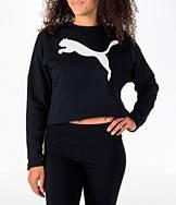 Women's Puma Rebel Crop Sweatshirt
