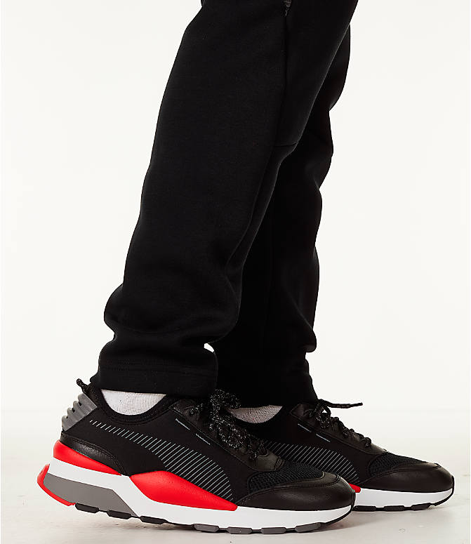 Detail 2 view of Men's Puma Evostripe Training Pants in Black/White
