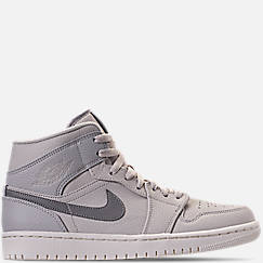 b190e35c858d Men s Air Jordan Retro 1 Mid Premium Basketball Shoes