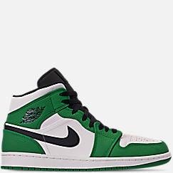 Men's Air Jordan Retro 1 Mid Premium Basketball Shoes
