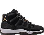 Girls' Grade School Air Jordan Retro 11 Premium Heiress Collection (3.5y - 9.5y) Basketball Shoes