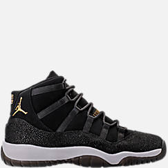Girls' Grade School Air Jordan Retro 11 Premium Heiress Collection (3.5y - 9.5y) Basketball Shoes