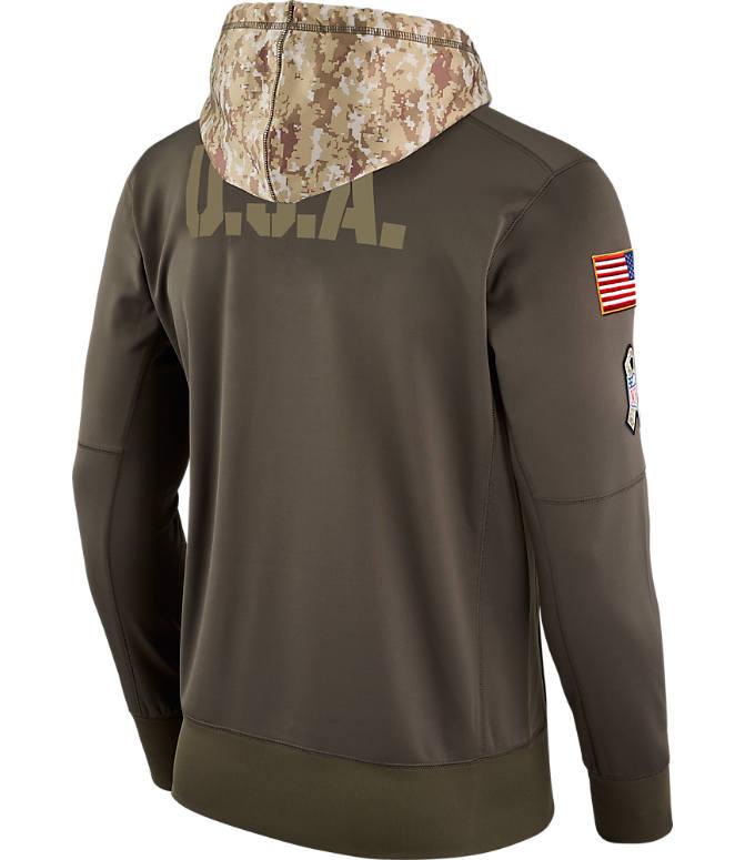 sale retailer 2d46c 67517 Men's Nike Carolina Panthers NFL Salute to Service Therma ...