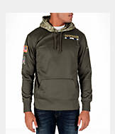 Men's Nike Dallas Cowboys NFL Salute to Service Therma Pullover Hoodie