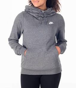 Women's Nike Sportswear Funnel Neck Hoodie Product Image