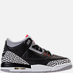 Kids' Grade School Air Jordan Retro 3 Basketball Shoes