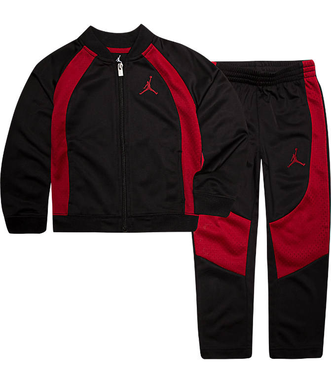 newest 59481 82637 Boys' Little Kids' Air Jordan Retro 1 Tricot Track Jacket and Pants Set