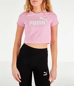 73a92ba676ab5 Women s Puma Amplified Cropped T-Shirt