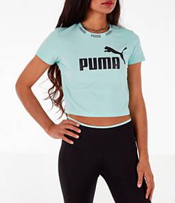 Women's Puma Amplified Cropped T-Shirt