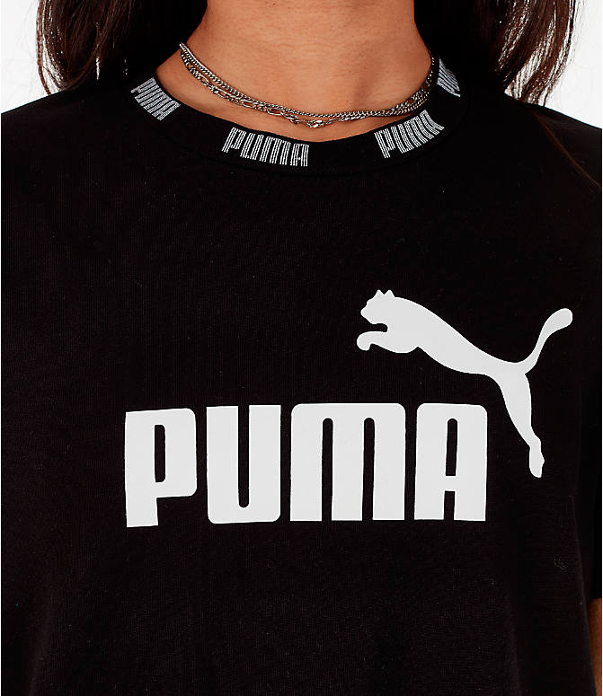 Detail 1 view of Women's Puma Amplified Dress in Black
