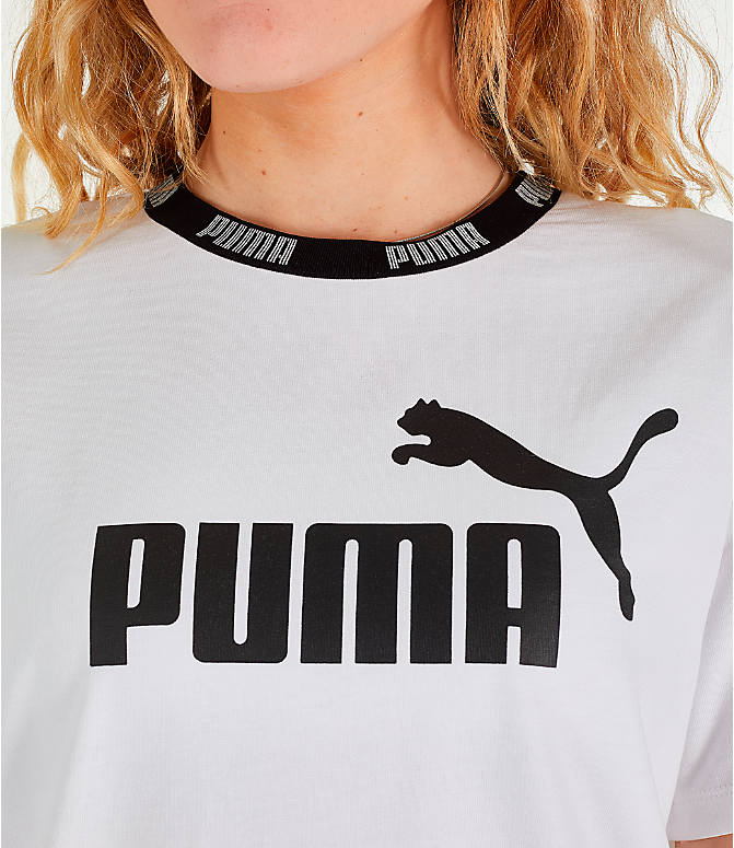 Detail 2 view of Women's Puma Amplified Dress in White