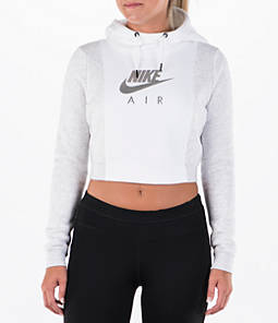 Women's Nike Sportswear Rally Air Crop Hoodie Product Image