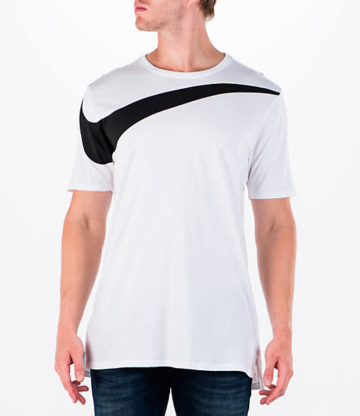 730df026 mens nike droptail swoosh t shirt in white
