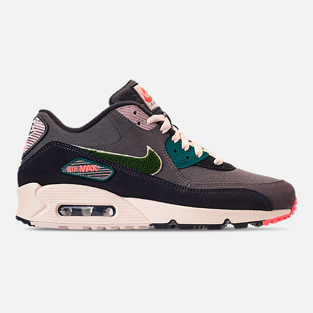 pretty nice 51a8f ed088 ... netherlands right view of mens nike air max 90 premium se casual shoes  in oil grey