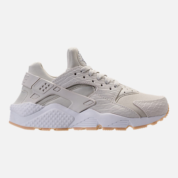 Right view of Women's Nike Air Huarache Run SE Running Shoes in Light  Bone/Gum