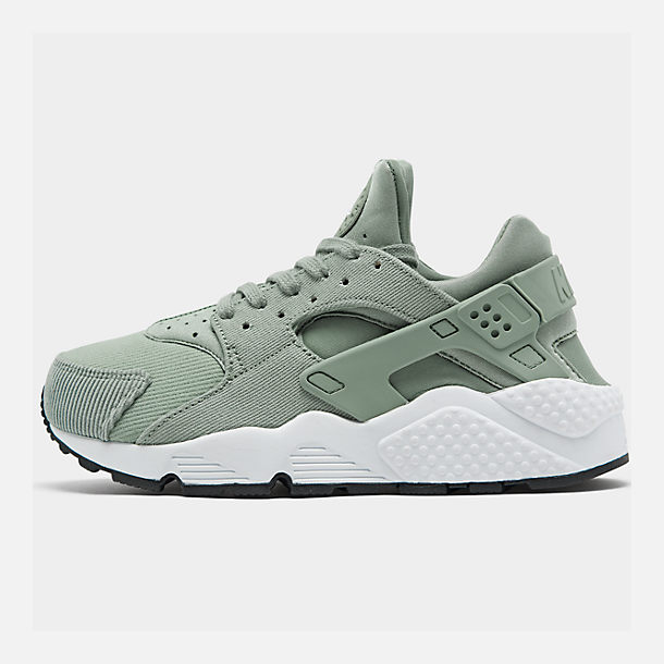 64e32fa4df41 Right view of Women s Nike Air Huarache Run SE Casual Shoes in Mica Green  Black