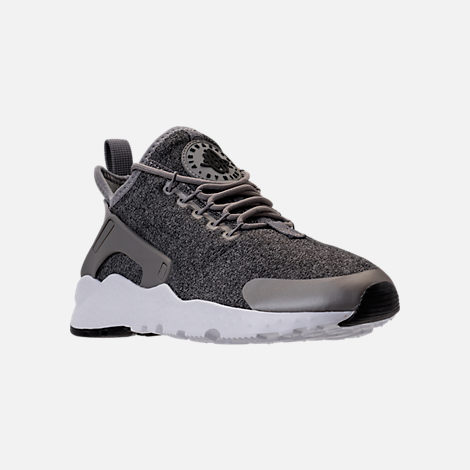 nike huarache womens black and white