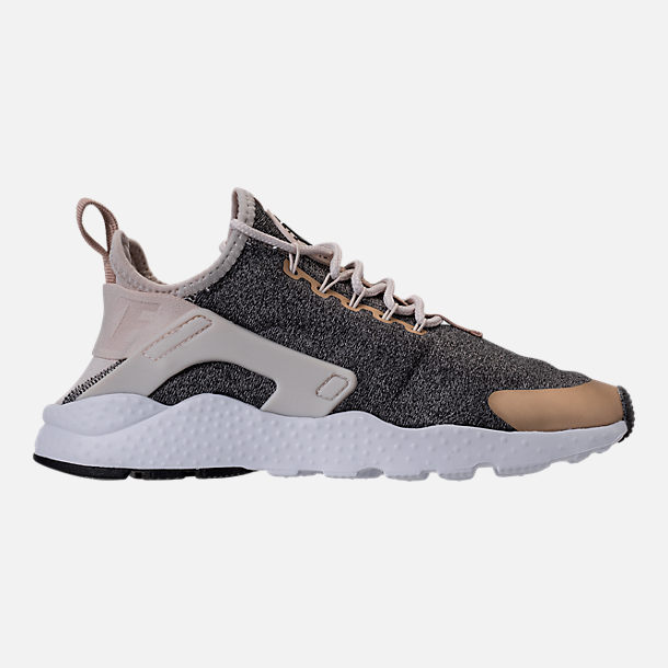 Right view of Women's Nike Air Huarache Run Ultra Casual Shoes in Light Orewood Brown/Blur